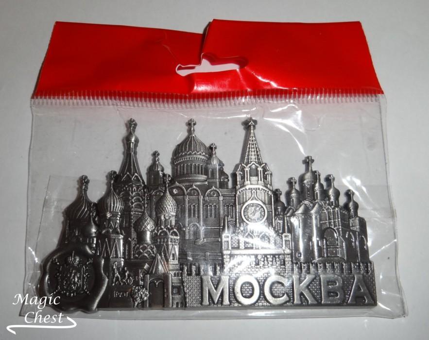 Магнит Москва, Кремль, металл, большой