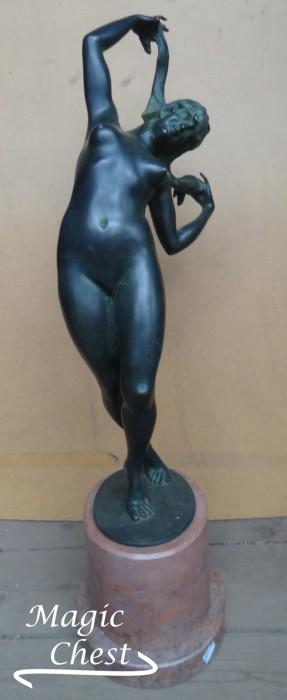 Harriet Whitney Frishmuth (1880-1979). Unknown. Bronze. 1918