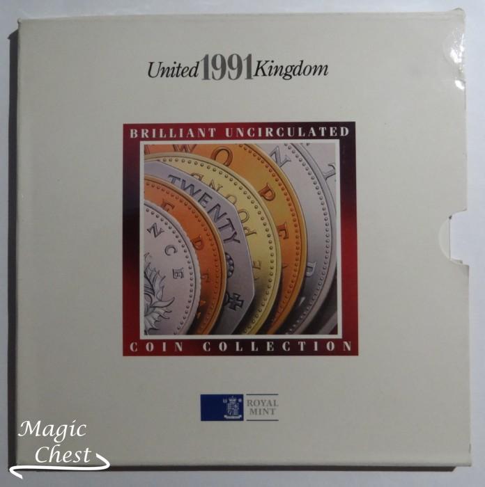Великобритания United Kingdom набор 1991 г. в буклете