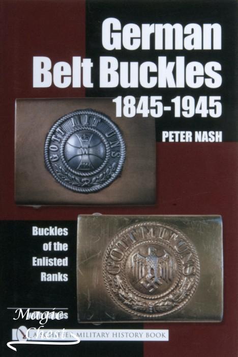 German Belt Buckles 1845-1945 new