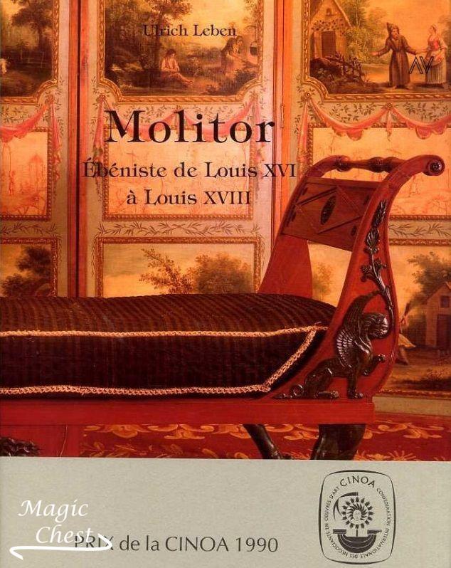 Molitor ébéniste de Louis XVI à Louis XVIII