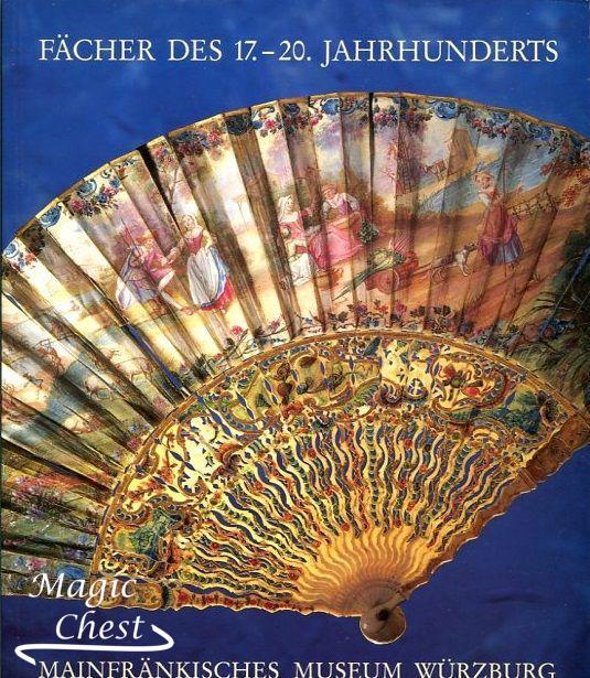 Fächer des 17.-20. Jahrhunderts. Mainfränkisches museum Würzburg. Веера