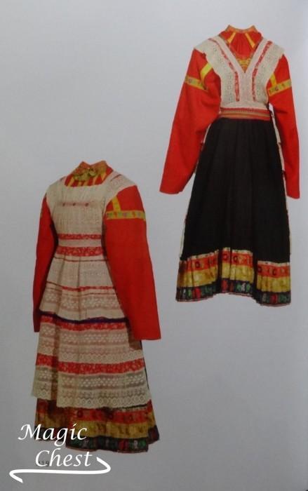 Русская традиционная одежда Тамбовской губернии конца XIX — начала ... 05f97cfd981