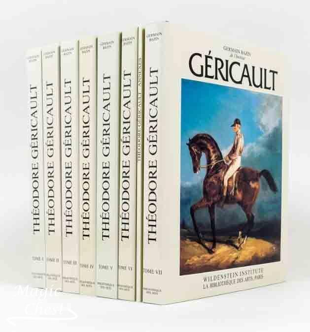 Théodore Géricault. Étude Critique, Documents et Catalogue Raisonné 7 volumes