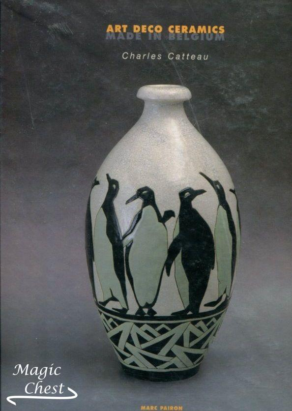 Art Deco Ceramics Made in Belgium. Charles Catteau