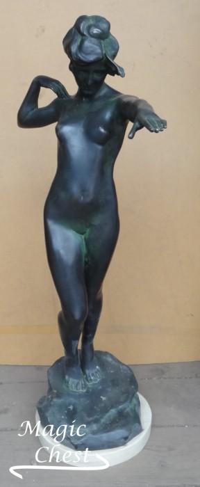 Harriet Whitney Frishmuth (1880-1979) Thread of Life. Bronze. 1916