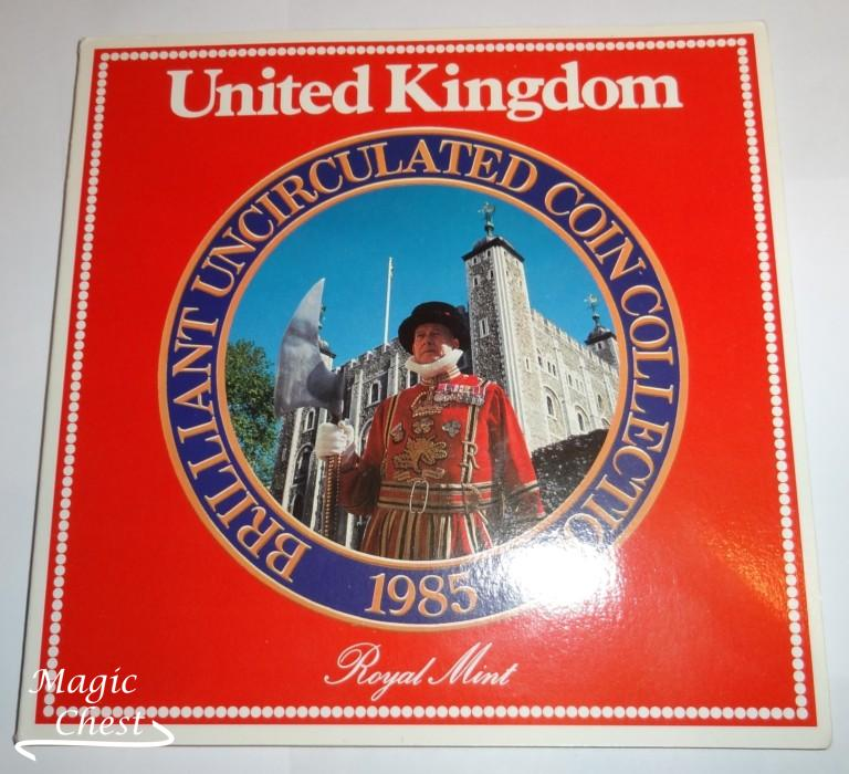 Великобритания United Kingdom набор 1985 г. в буклете