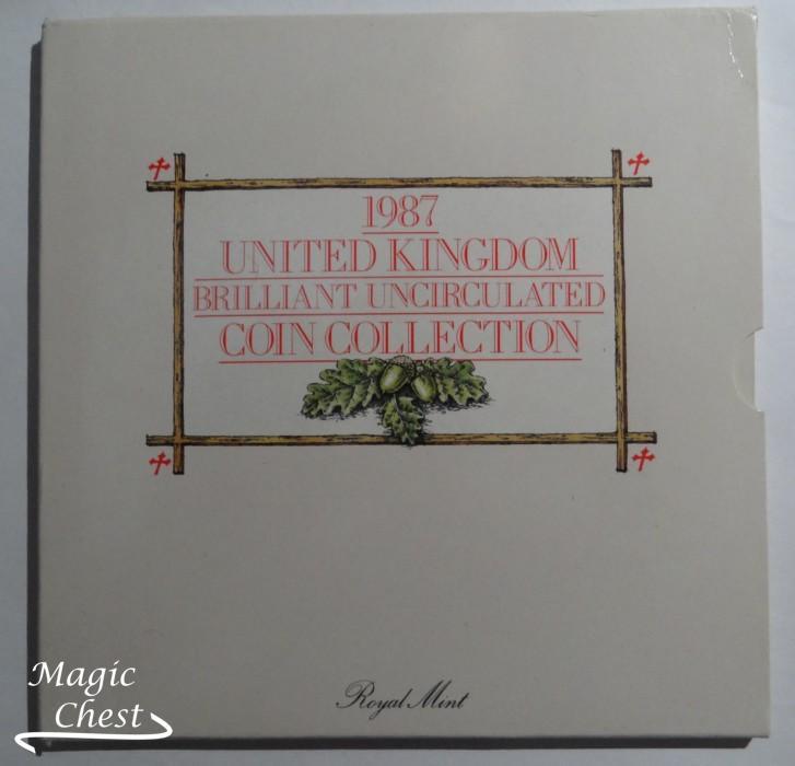 Великобритания United Kingdom набор 1987 г. в буклете