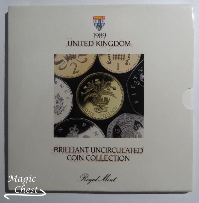 Великобритания United Kingdom набор 1989 г. в буклете