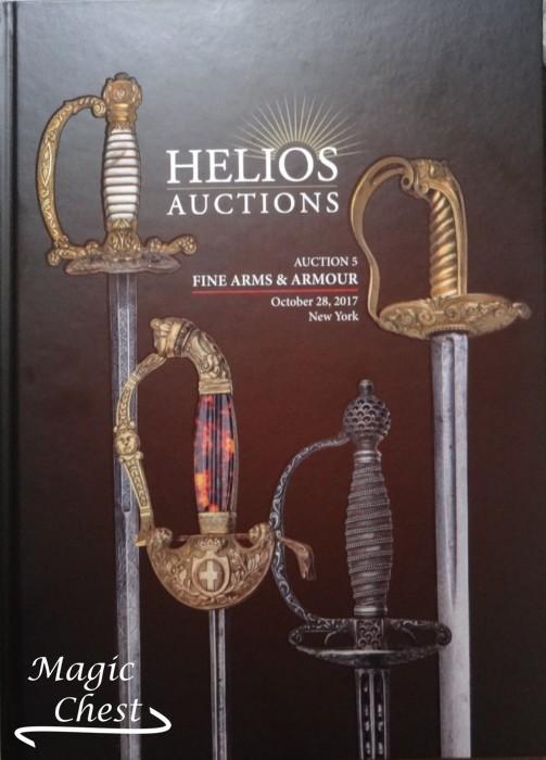 Аукционы Гелиос в Нью-Йорке. Аукцион № 5. Прекрасное оружие и доспехи. Helious auctions. Auction 5. Fine arms and armour