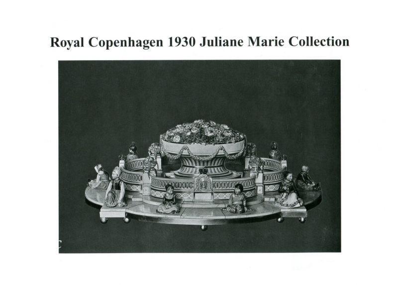 Royal Copenhagen 1930 Catalog. Juliane Marie Collection